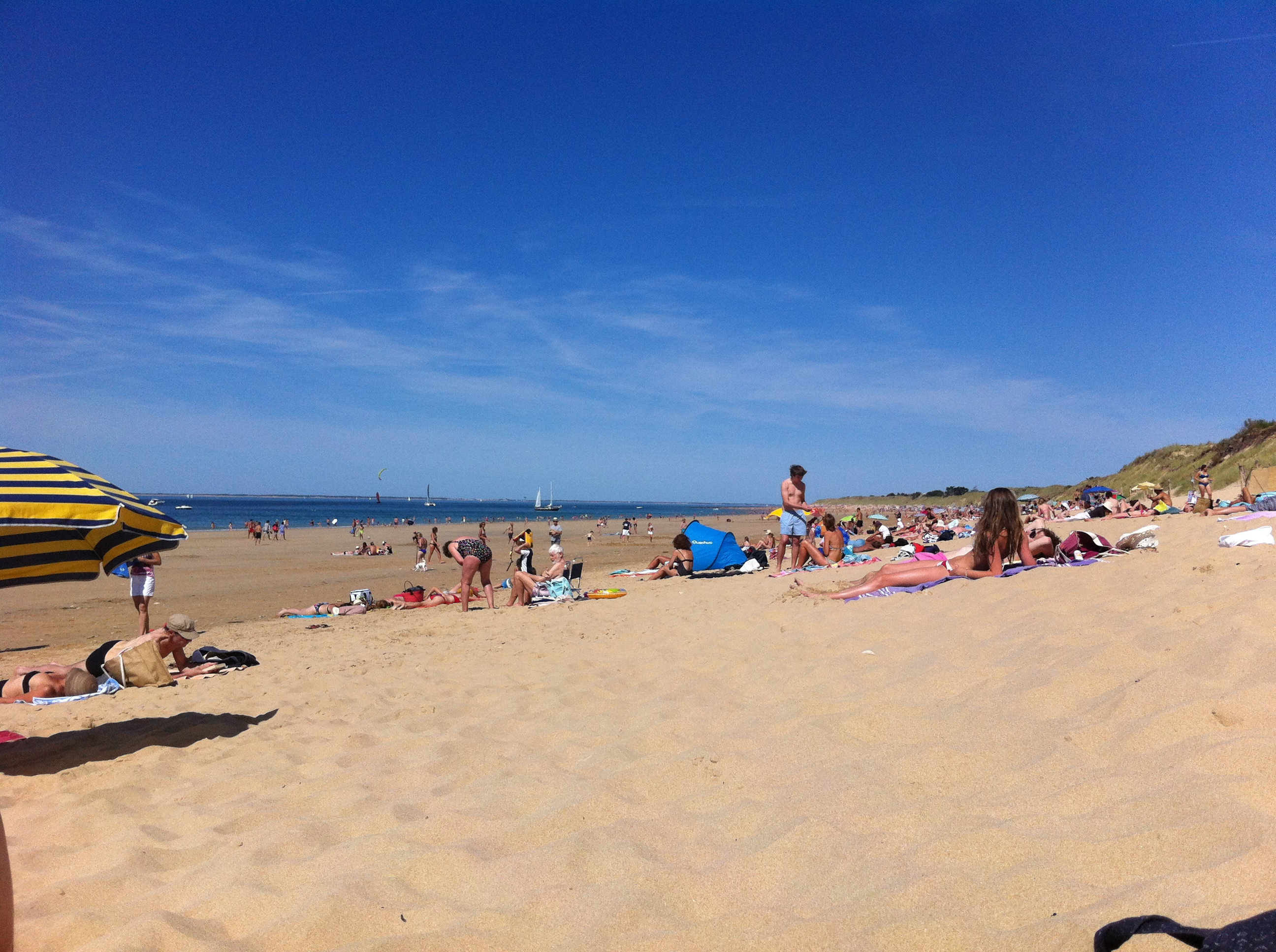 Après-midi à la plage